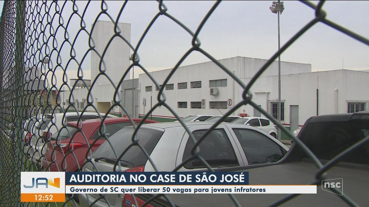 Case de São José passa por auditoria e Governo de SC quer liberar 50 novas vagas
