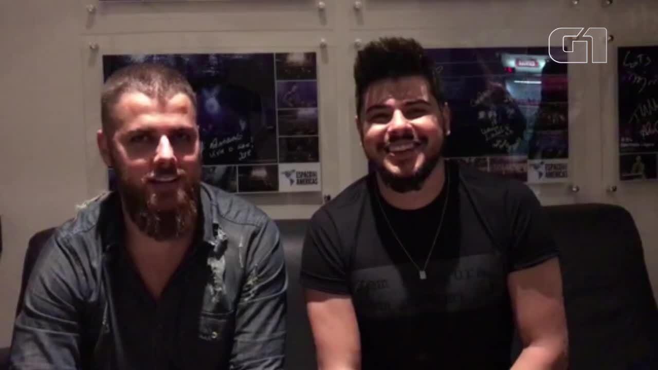 Zé Neto e Cristiano gravaram especialmente para o G1 Pará
