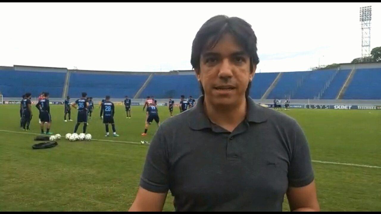 Por dentro do treino  Londrina conta com retornos para a partida contra o  São Bento 5a5bfb51e3666