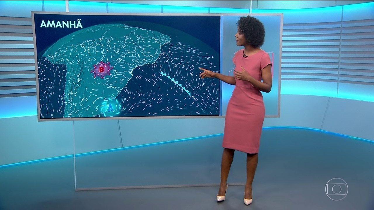 Previsão do tempo com Maria Júlia Coutinho.