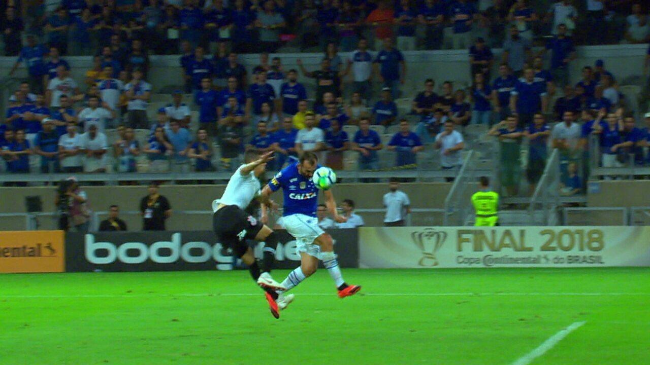 Melhores momentos: Cruzeiro 1 x 0 Corinthians pela decisão da Copa do Brasil
