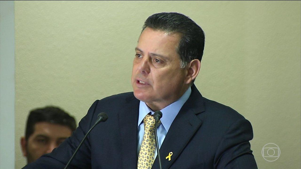 Ex-governador de Goiás, Marconi Perillo, é preso pela PF