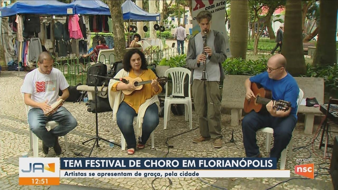 Festival de Choro acontece em vários pontos de Florianópolis