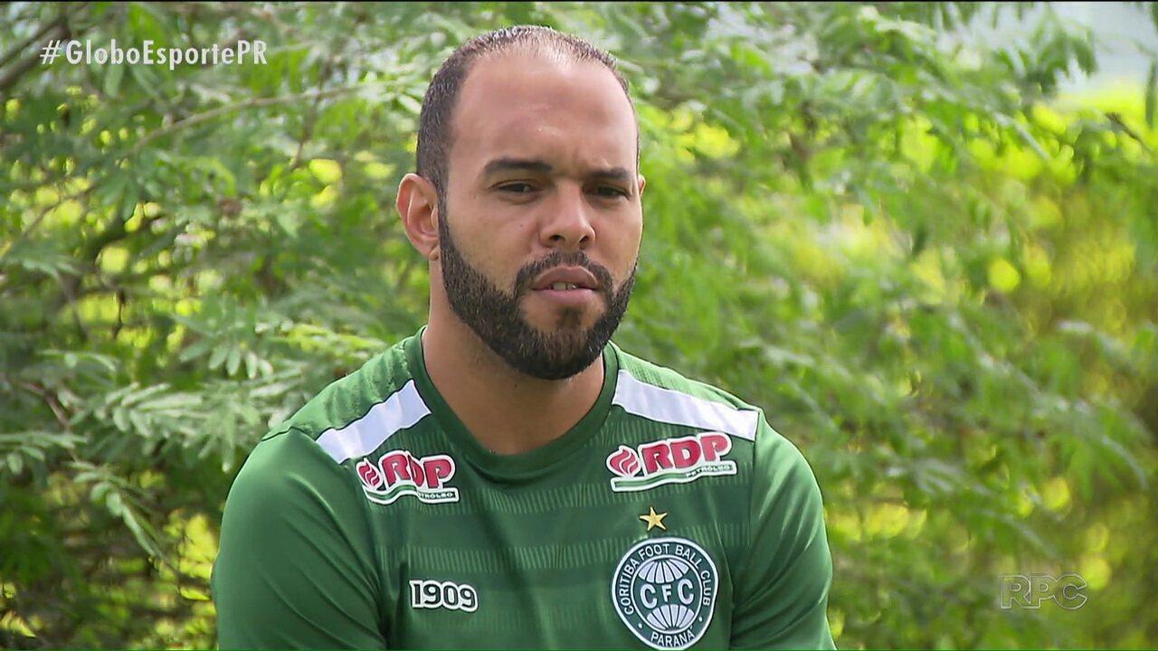 Alecsandro não desiste de fazer história no Coritiba