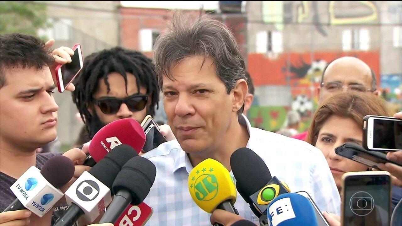 Fernando Haddad admite que faltou controle interno das estatais nos governos do PT