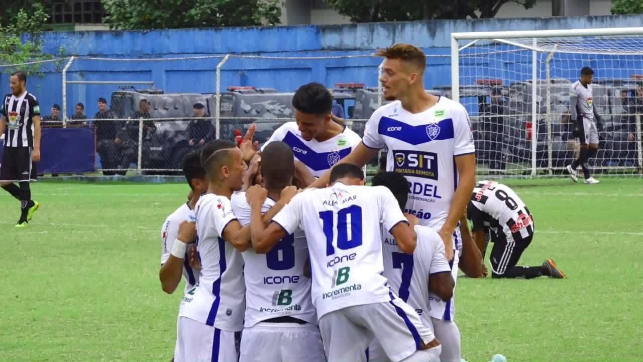 Os gols de Vitória-ES 3 x 0 Atlético-ES, pela Copa Espírito Santo 2018