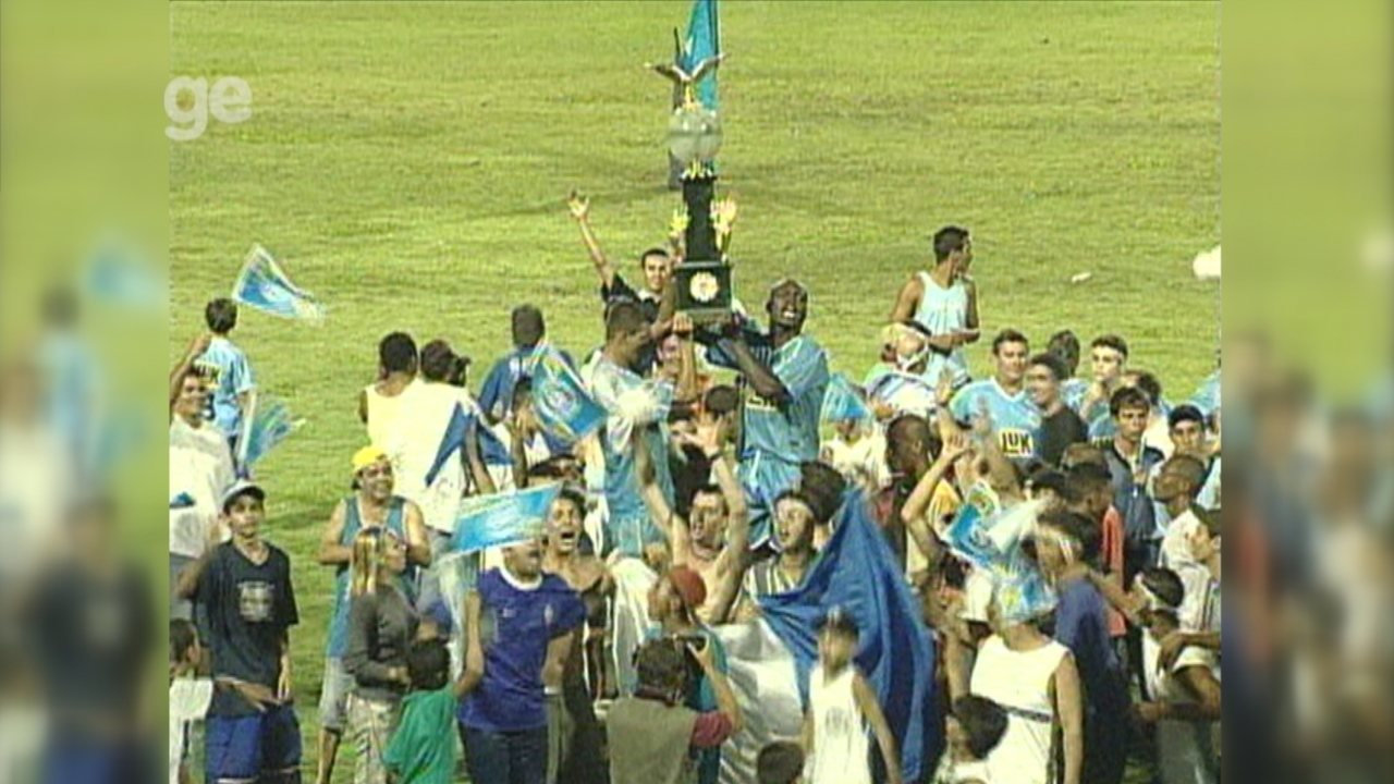 São Bento foi campeão da Copa Paulista em 2002 em jogo marcado por queda de energia
