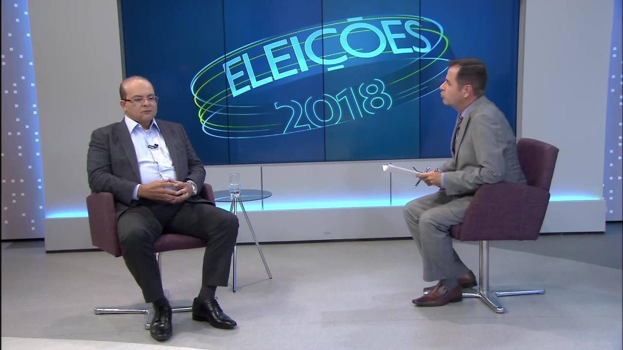 DF2 entrevista o candidato ao Buriti pelo MDB, Ibaneis Rocha.