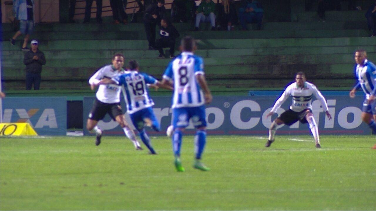 Melhores momentos de Coritiba 1 x 1 CSA pela 32ª rodada do Campeonato Brasileiro Série B