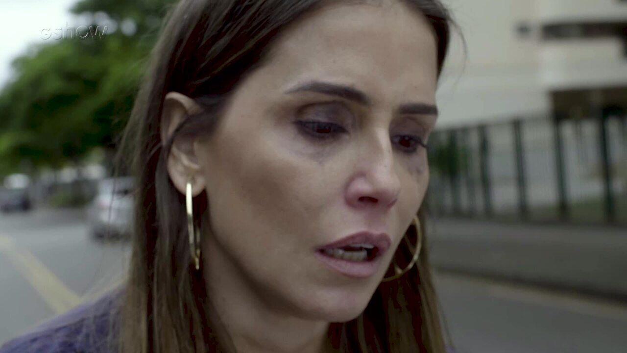 Resumo Segundo Sol – 18/10 – Karola se desentende com Laureta e anda desorientada pela rua