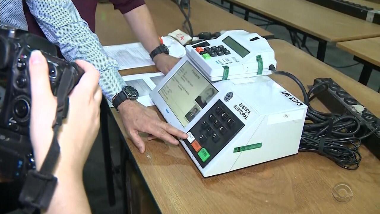 Urnas eletrônicas passam por auditoria antes do segundo turno das eleições no RS