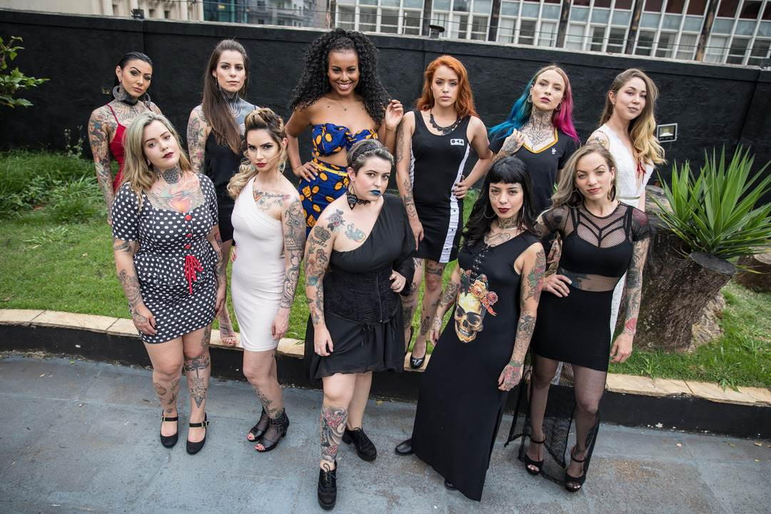 Miss Tattoo Week será eleita neste fim de semana em São Paulo