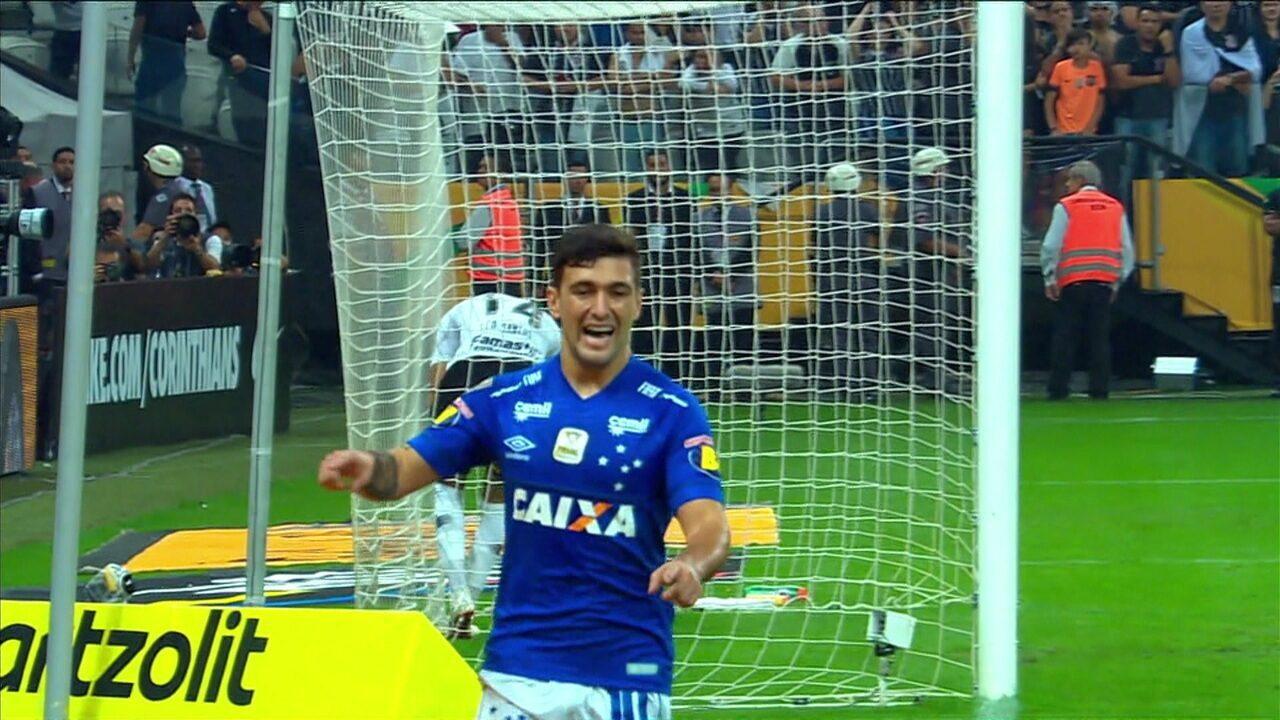 48ed45a92dfc8 Melhores momentos  Corinthians 1 x 2 Cruzeiro pela decisão da Copa do Brasil