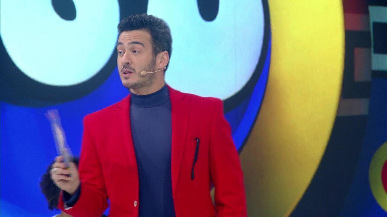 Marcos Veras e Rafa Brites capricham nas coreografias no 'Melhores Anos'