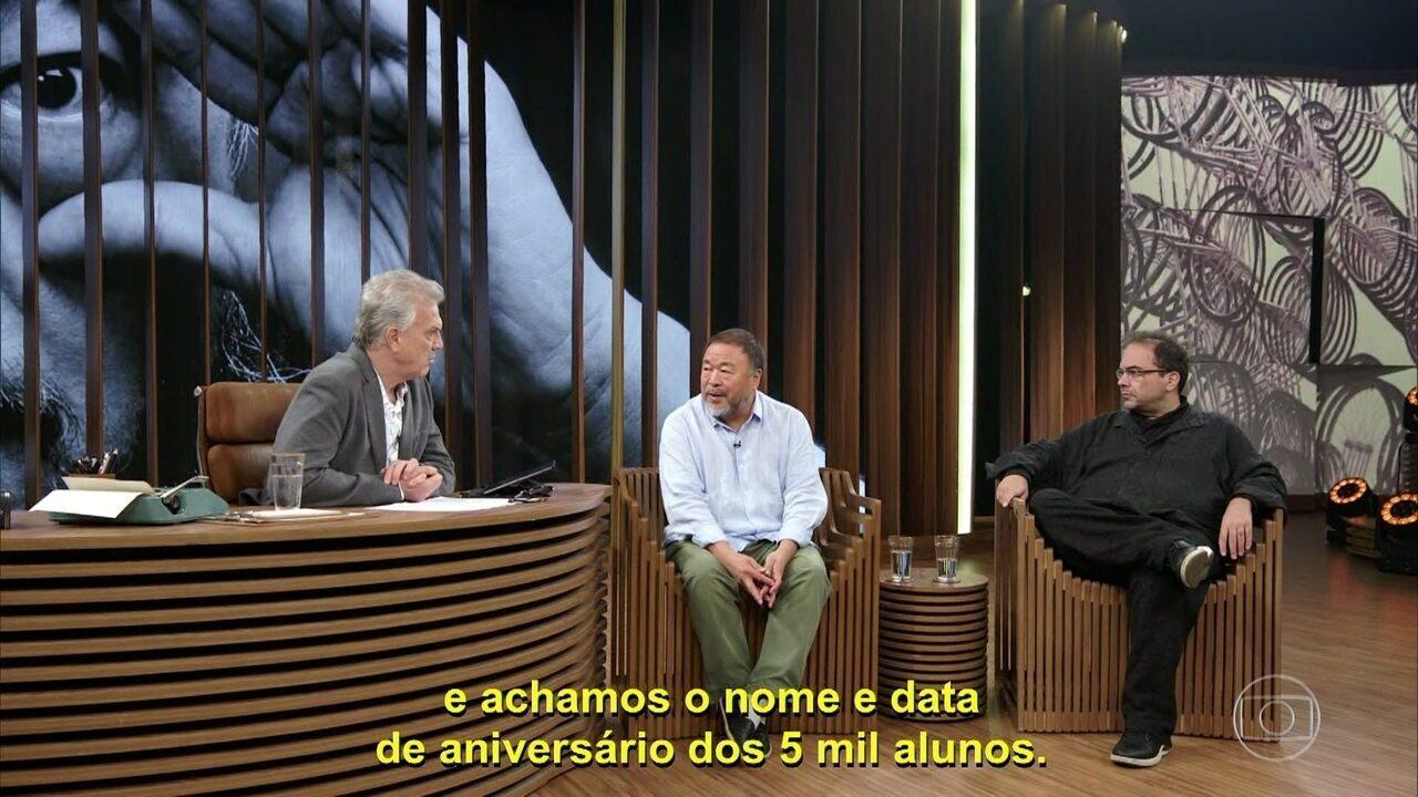 Ai Weiwei fala sobre ativismo e prisão domiciliar