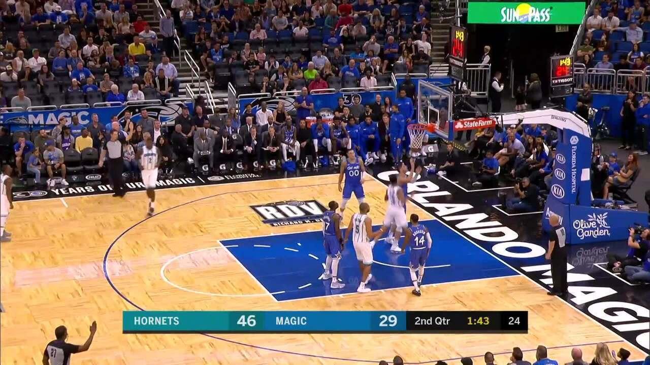 Melhores momentos: Charlotte Hornets 120 x 88 Orlando Magic pela NBA