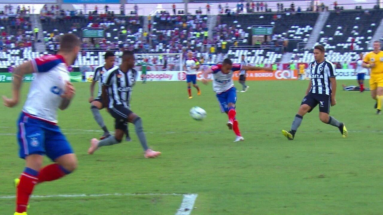 Os melhores momentos de Botafogo 0 x 1 Bahia pela 30ª rodada do Campeonato Brasileiro