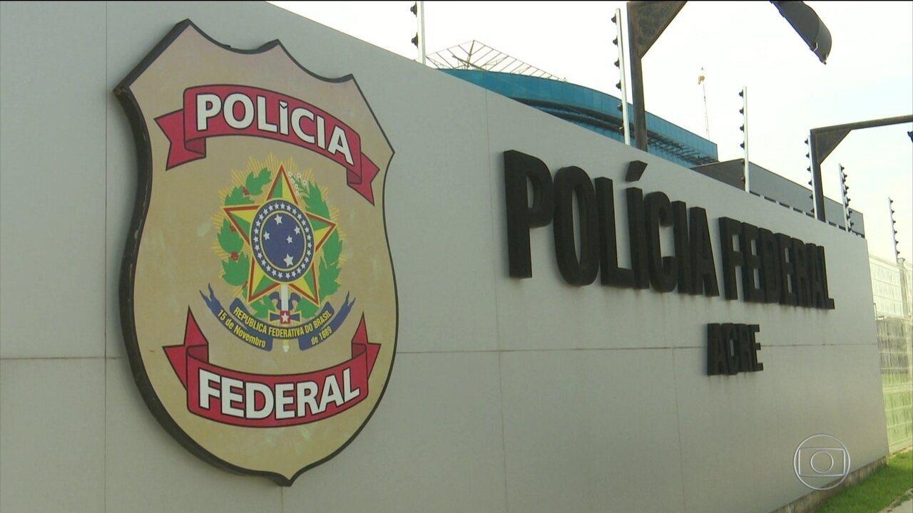 PF faz operação em 12 estados contra organizações criminosas e tráfico de drogas