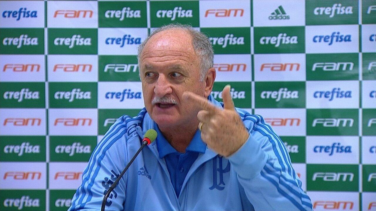 Felipão reclama de cartões dados ao Palmeiras contra o Ceará: