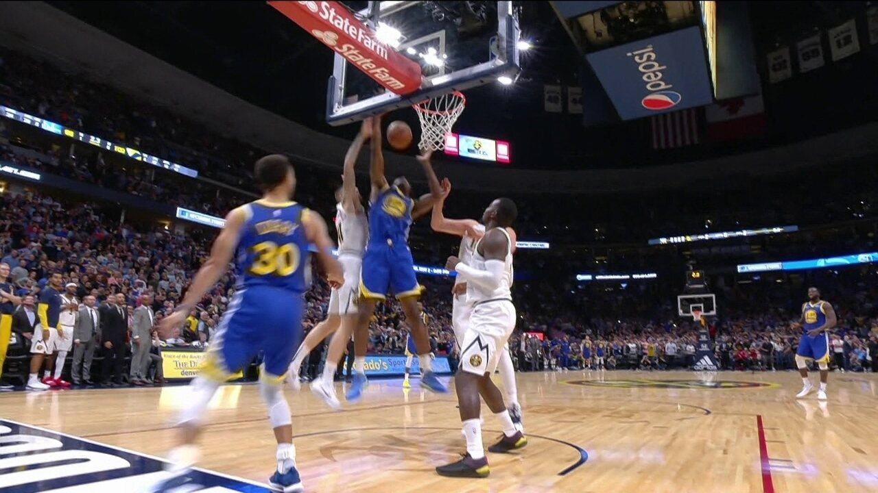 Melhores momentos de Golden State Warriors 98 x 100 Denver Nuggets pela rodada da NBA