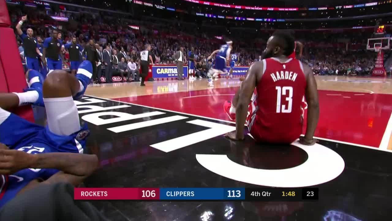 Melhores momentos: Houston Rockets 112 x 115 Los Angeles Clippers da NBA