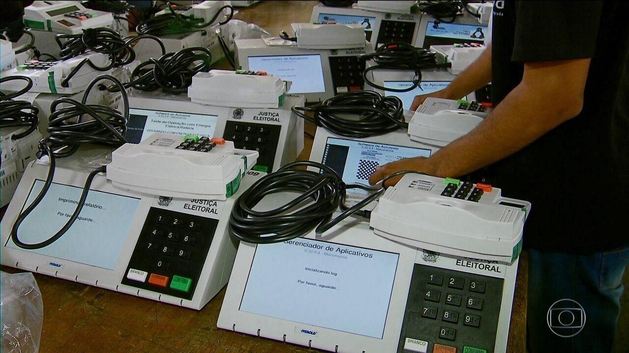 TSE reafirma 'total integridade e confiabilidade das urnas eletrônicas'