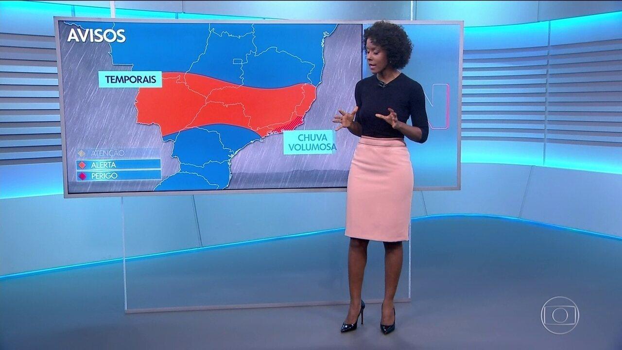 Veja a previsão do tempo para a quinta-feira (24.10) em todo o Brasil
