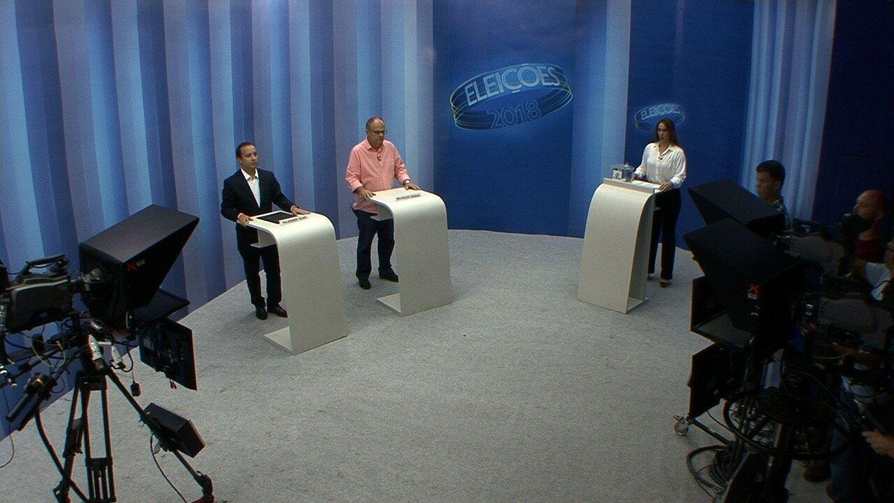 Confira o primeiro bloco do debate do 2º turno para o governo de Sergipe