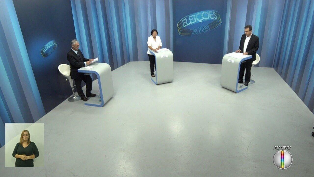 Debate dos candidatos ao governo do RN: 2º turno - Bloco 3