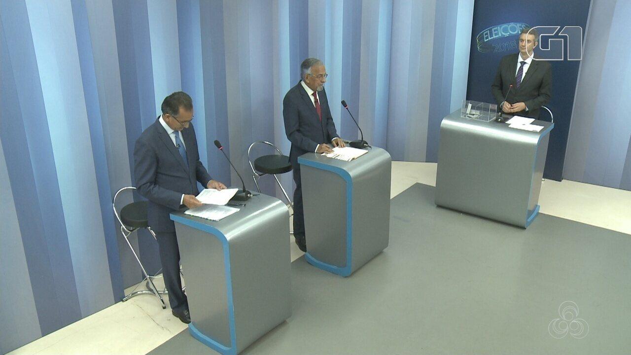 Debate do 2º turno para governador do Amapá - bloco 3