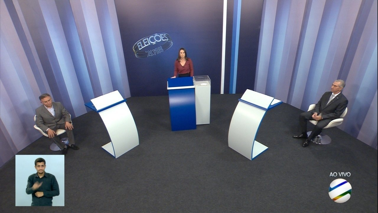 Debate para governador de Mato Grosso do Sul: 2º turno