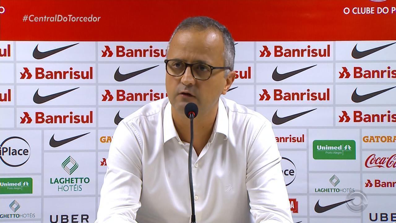 Direção do Inter reclama da arbitragem na partida contra o Vasco d957eb7a9cb78