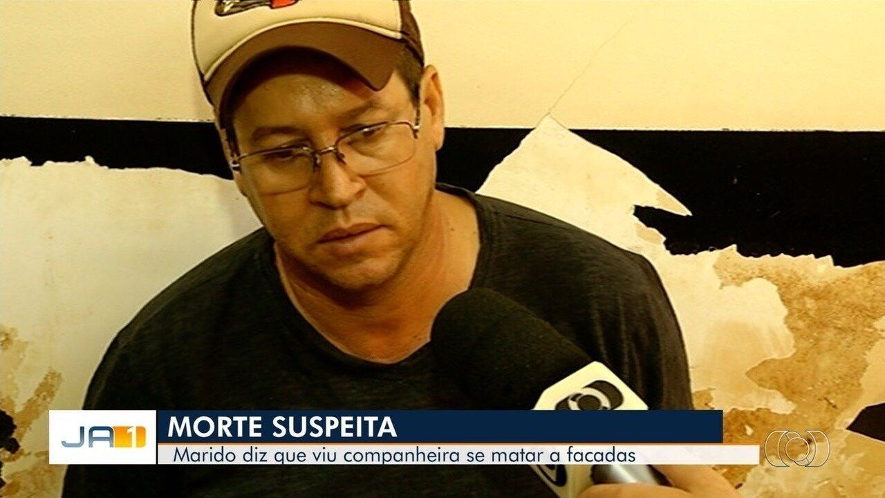 Marido é preso suspeito de matar mulher e dizer à polícia que ela havia se suicidado em GO