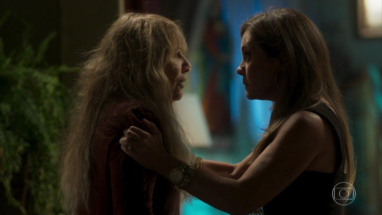 Laureta consegue controlar Dulce e abandona Remy na casa de sua mãe