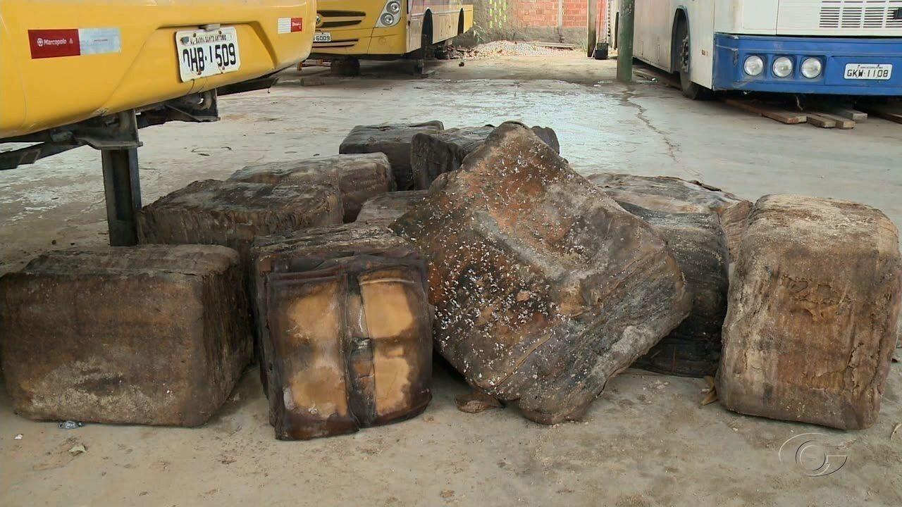 Polícia Federal analisa amostra de pacotes que surgiram no litoral de Alagoas