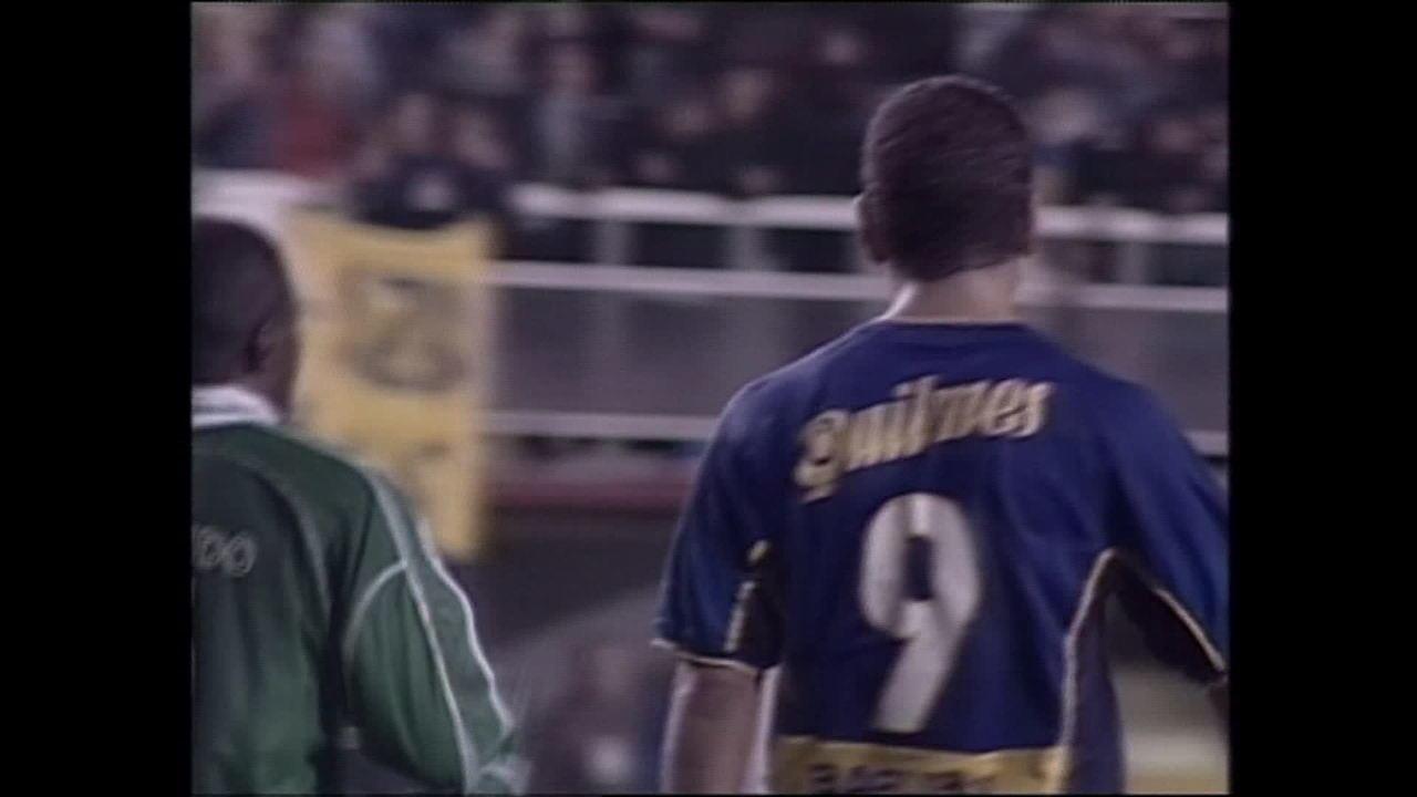 Relembre o duelo entre Palmeiras e Boca Juniors na semifinal da Libertadores de 2001