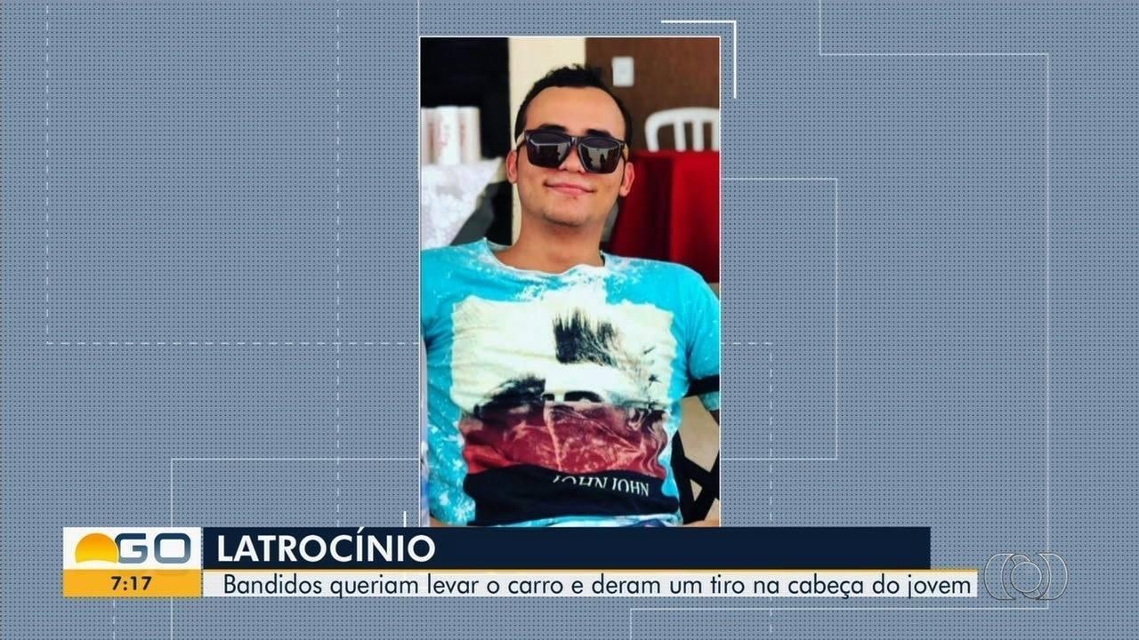 Jovem morre após ser baleado durante tentativa de assalto ao sair de festa, em Goiânia