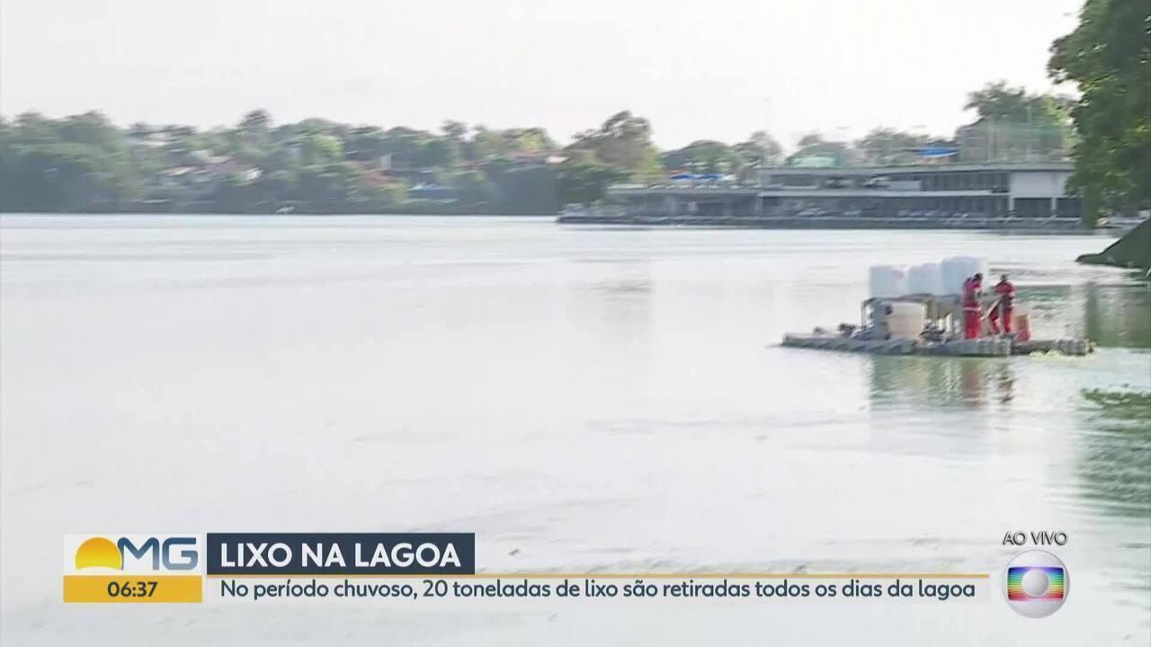 Objetivo do tratamento na Lagoa é diminuir matéria orgânica, além de controlar as algas