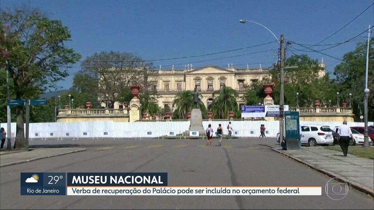 Museu Nacional pode receber 55 milhões de reais para recuperar fachada e prédio
