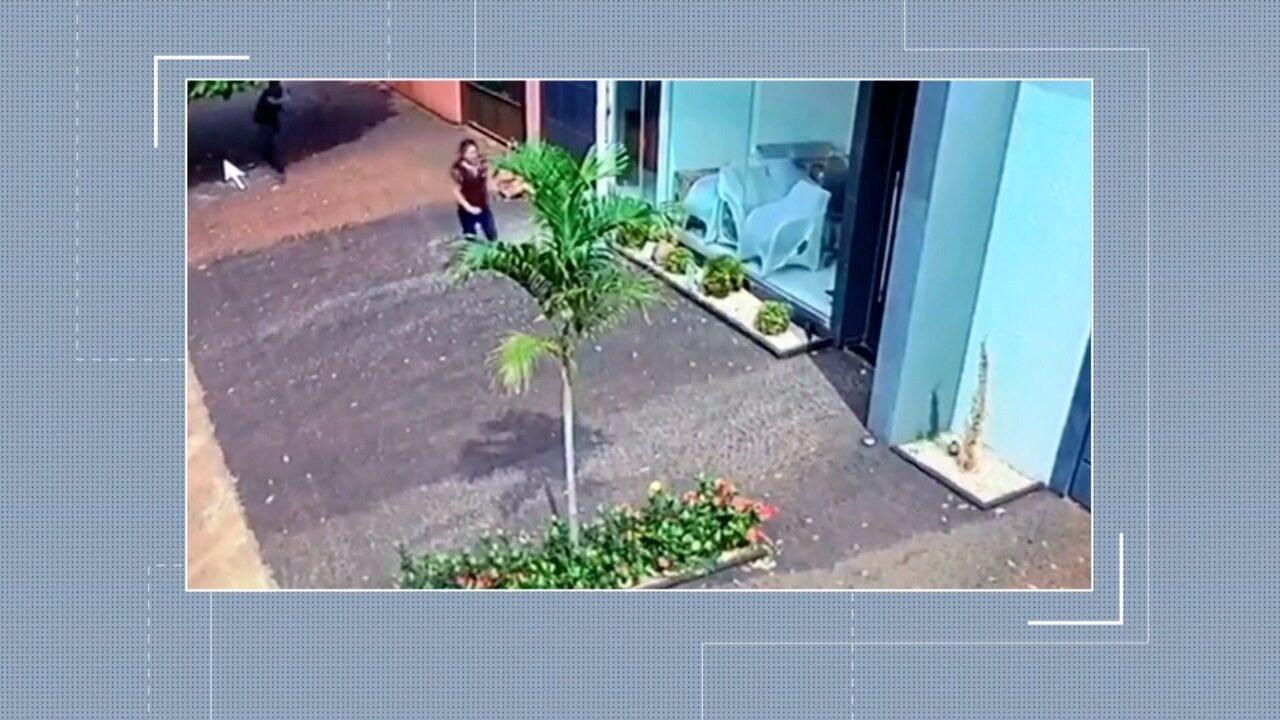 Marido e sobrinho são presos suspeitos de matar mulher por ciúmes em Vicentinópolis; vídeo