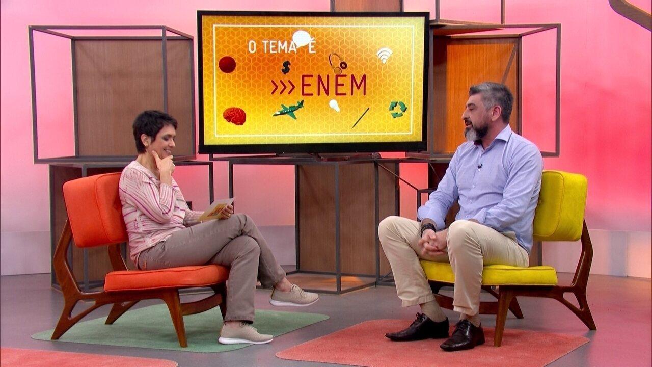 O Tema é Enem: veja a entrevista na íntegra
