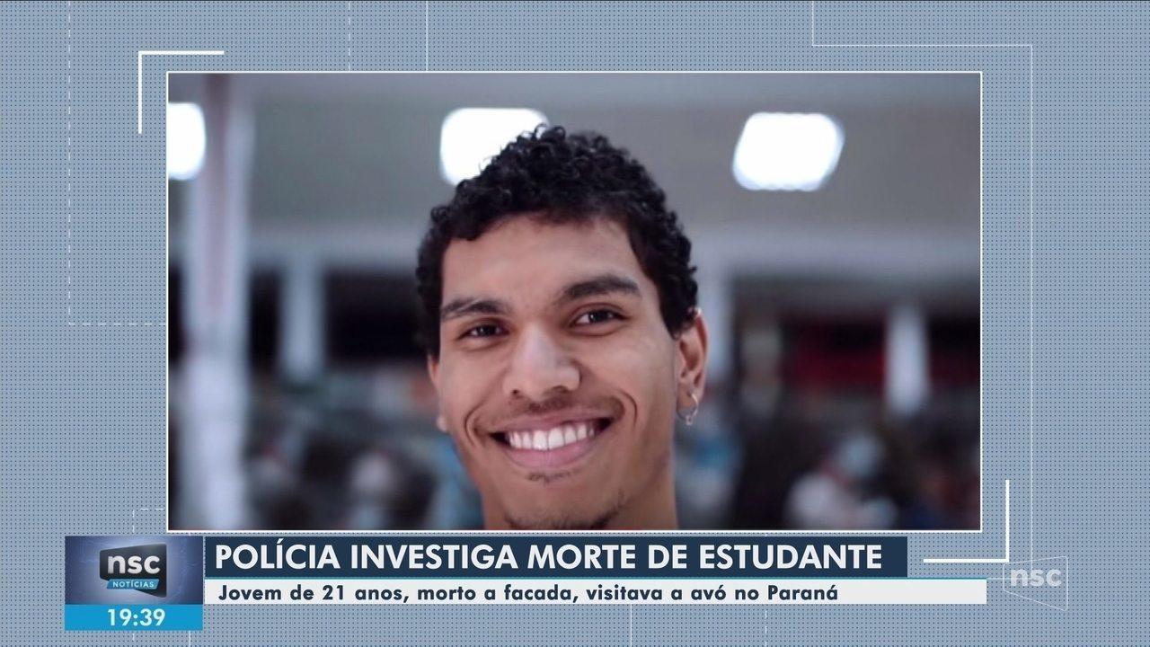 Polícia investiga morte de estudante encontrado esfaqueado em Cascavel