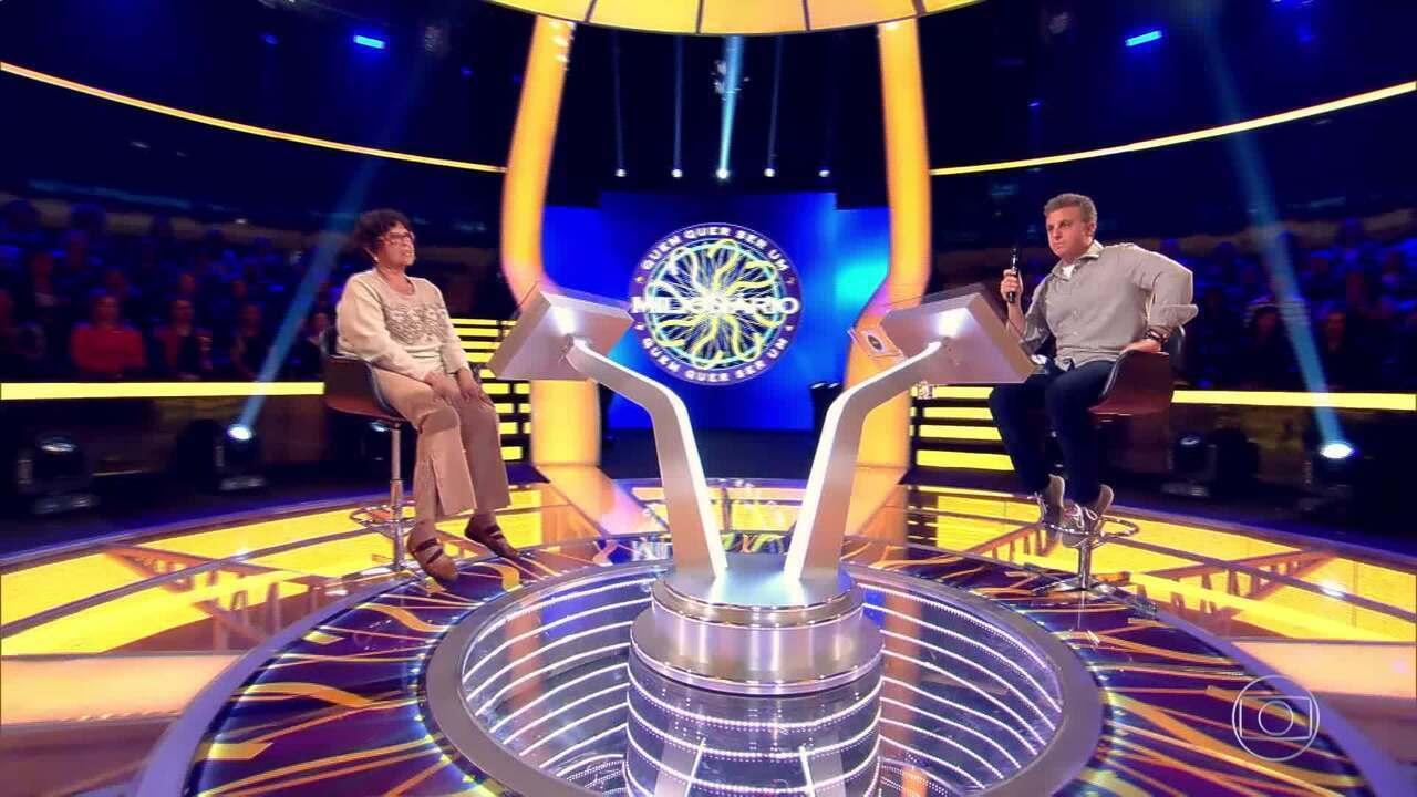 Maria Elisabeth continua na disputa pelo prêmio de 1 milhão reais