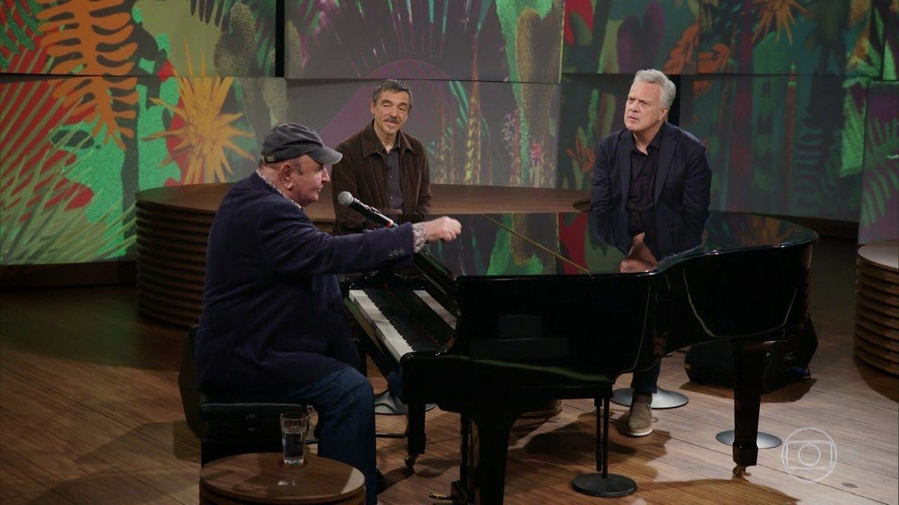 João Donato conta a história da música Até Quem sabe
