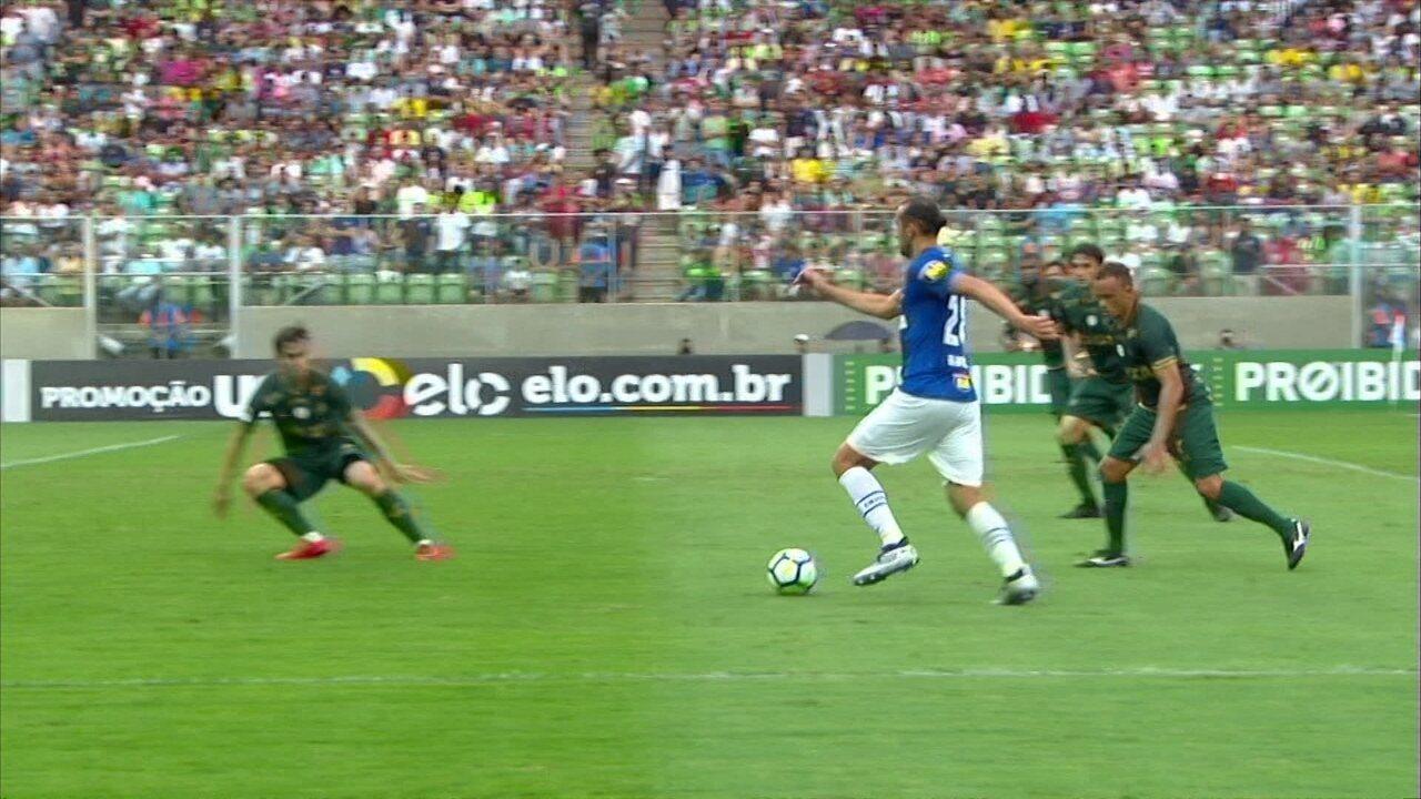 Melhores momentos  América-MG 1 x 2 Cruzeiro pela 32ª rodada do Brasileirão ab7b637c7424b
