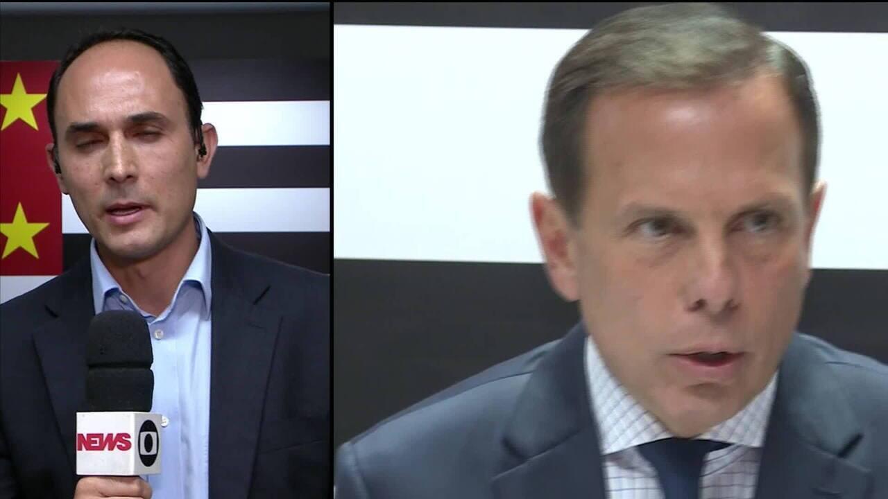 João Doria anuncia Gilberto Kassab como chefe da Casa Civil em SP