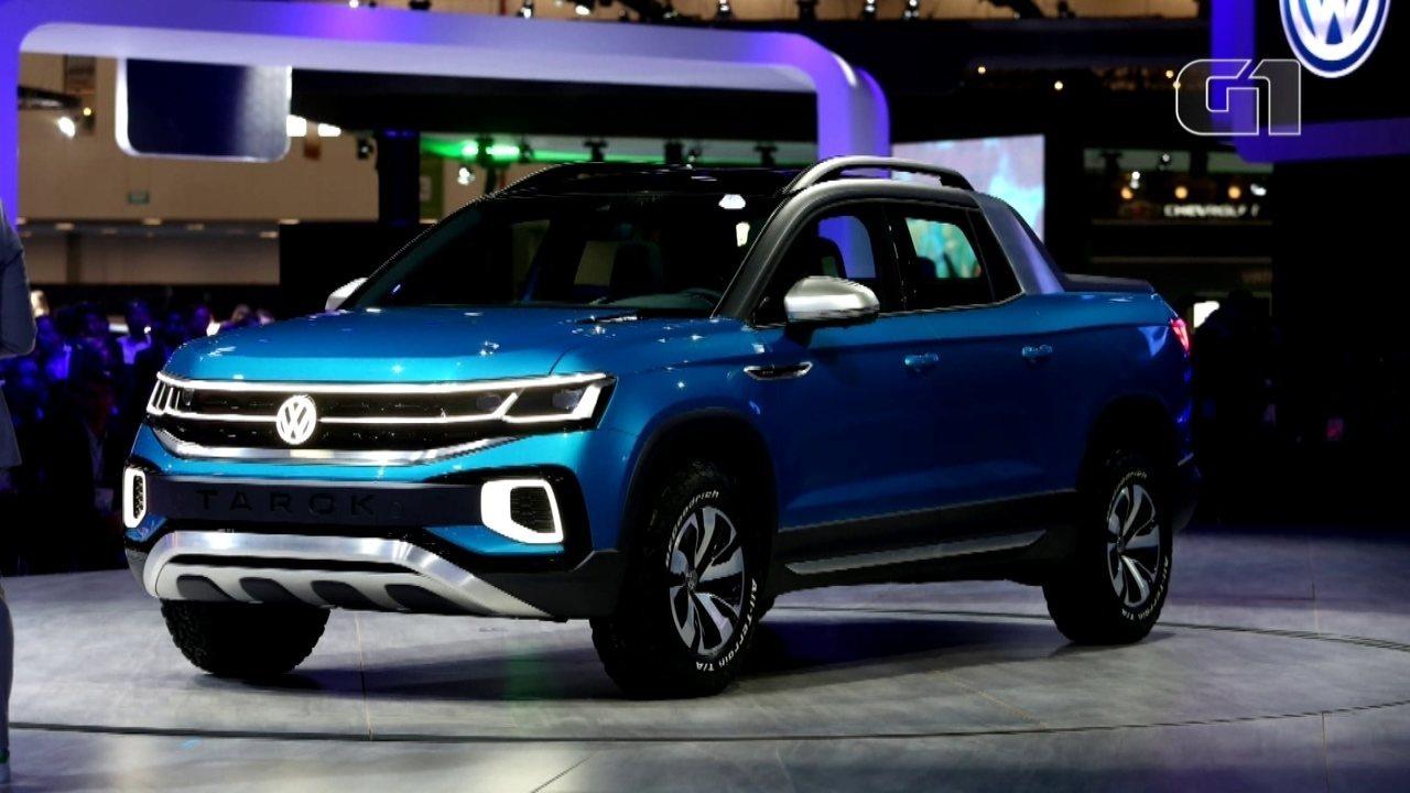 Salão do Automóvel em 2018: Volkswagen mostra a picapeTarok