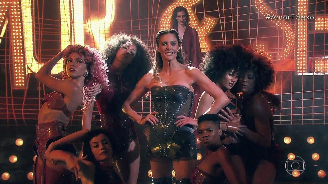 """Fernanda Lima e balé dançam """"I Can't Get No"""""""