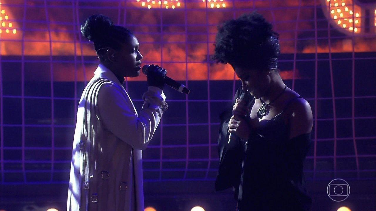 Larissa Luz e Mylena Jardim cantam no Amor e Sexo