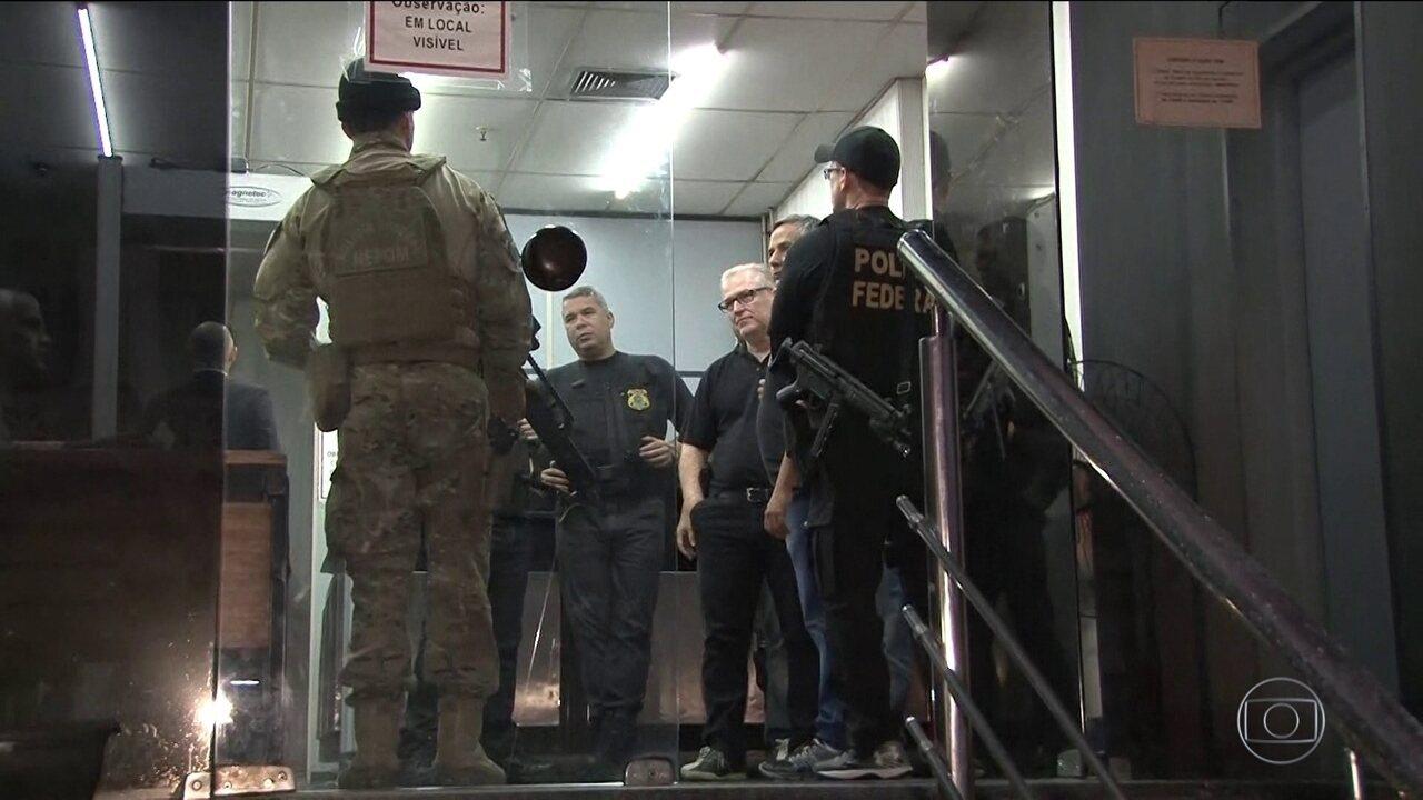 PF cumpre mandados de prisão conta deputados estaduais do RJ em desdobramento da Lava Jato